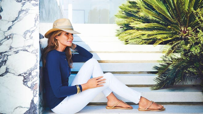 """Aerin Lauder spent much of her childhood in Palm Beach. """"It has always been a place where I feel happy, relaxed and comfortable,"""" she says."""