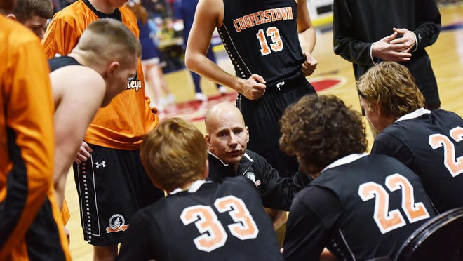 Cooperstown's David Bertram, who stepped down from his boys basketball and boys tennis coaching roles to become the school's athletic director in 2018, recently accepted a similar job at Section II Mohonasen.