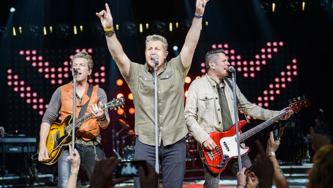 Rascal Flatts performing last year in Connecticut.