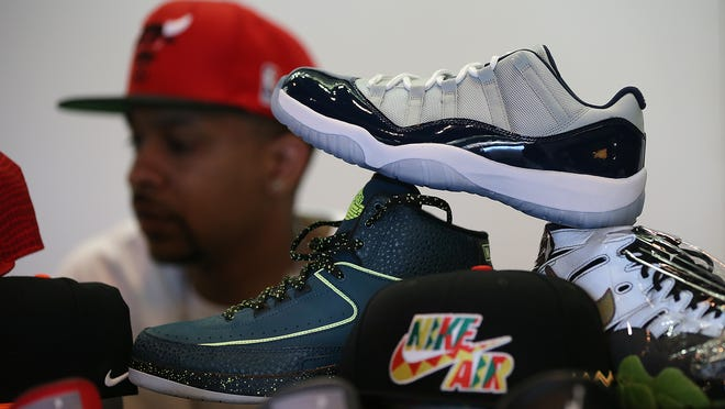 The inaugural Midwest Kickfest, a celebration of all things sneaker-related, was held Sunday, April 12, 2015, at Bankers Life Fieldhouse. Featuring more than 100 sneaker vendors and sneaker boutiques, the show gave collectors a chance to buy, sell or trade their wares.