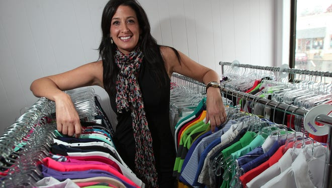 Christina Thompson, of Rockaway Twp., started an online golf apparel-accessory business Golf4Her, selling things designed for women. She recently opened a retail showroom in downtown Denville.