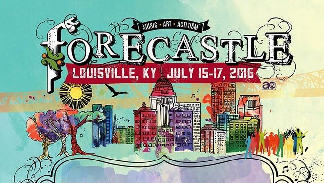 The 2016 Forecastle Festival is July 15-17 at Waterfront Park.