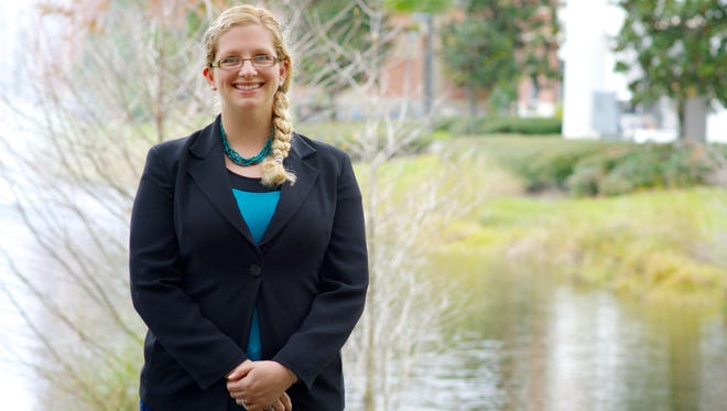 Carly Randall is a doctoral candidate and scholarship recipient studying coral at Florida Institute of Technology.