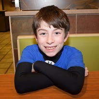 Lucky to be alive, 12-year-old believes in power of prayer