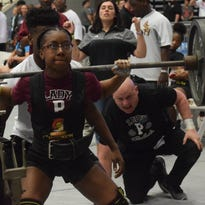 Pineville, Peabody girls earn first state powerlifting titles