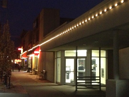 The Iowa City Downtown District flipped the switch