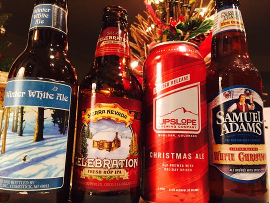 A selection of winter and holiday beers including Bell's