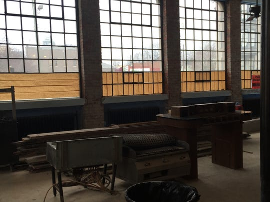 The space where Repeal Restaurant will be, coming in the spring.