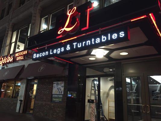 Bacon Legs & Turntables