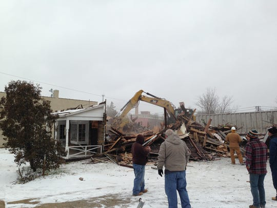 The Spirits of Milltown is demolished.