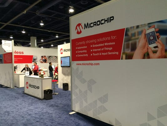 Microchip Technology CES 2015