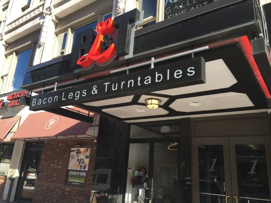 Bacon Legs & Turntables