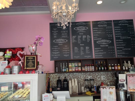 Whipped in Red Bank is a creperie and dessert bar that