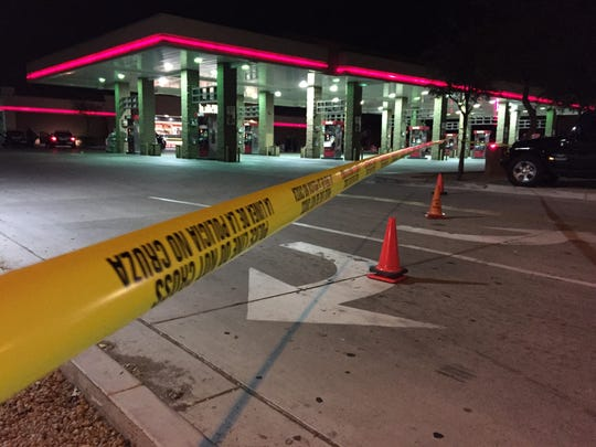 One person was killed in a shooting at a Mesa QT on