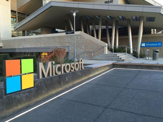Microsoft's Redmond campus