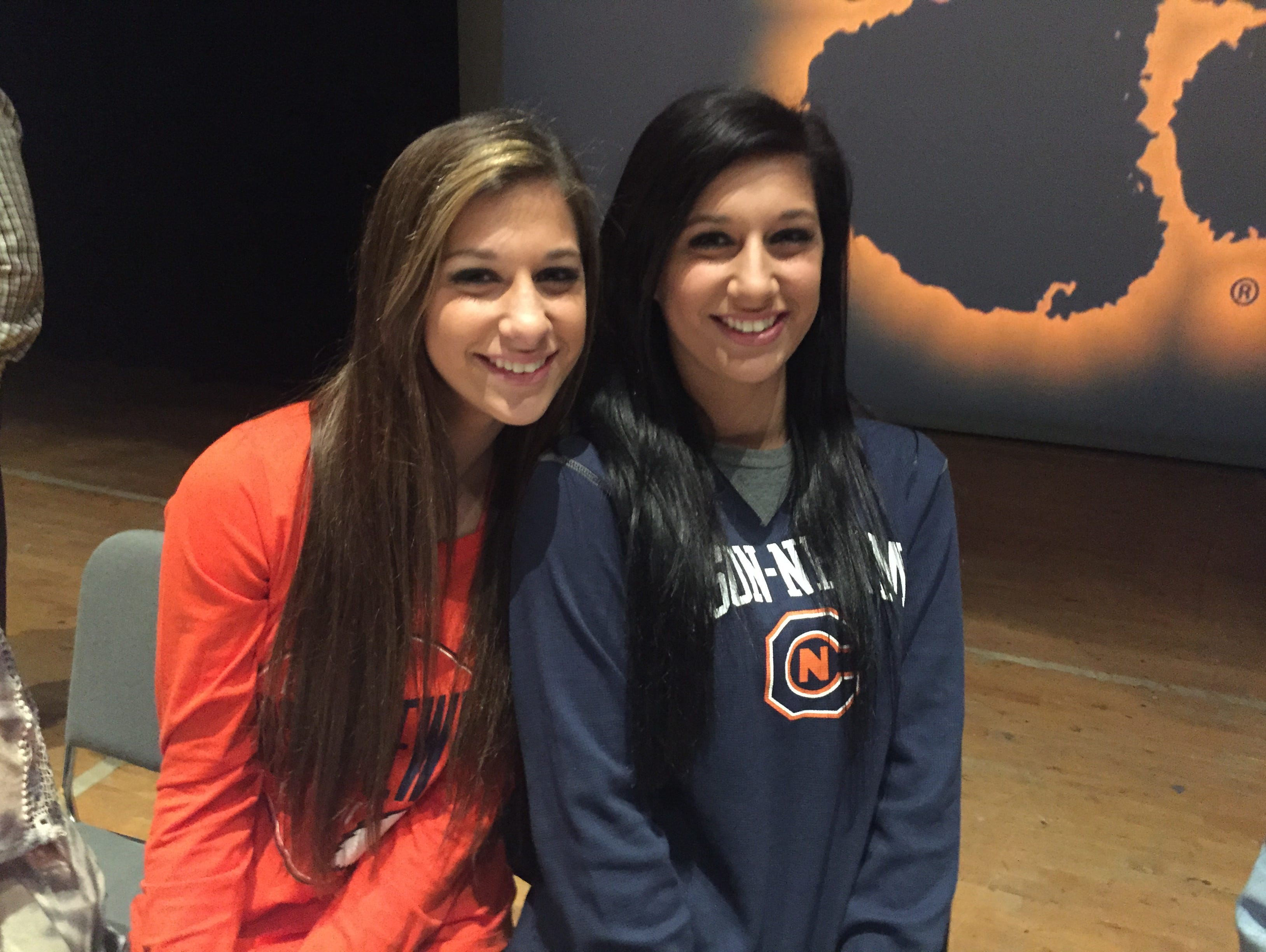 Averi and Bailey Williams signed letters of intent to play soccer at Carson Newman University