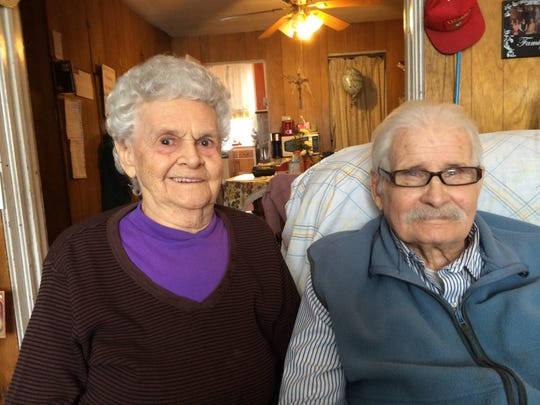 Jean and Earl Balyeat recently celebrated their 70th