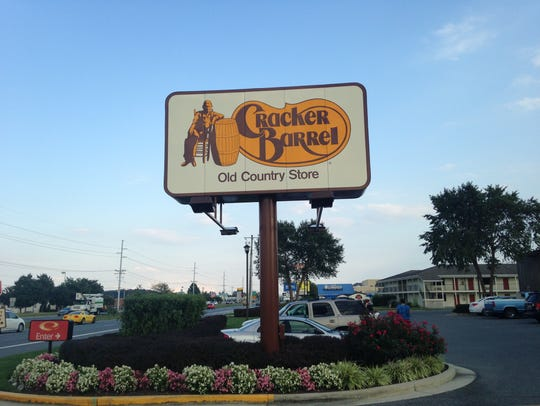 Cracker Barrel Old Country Store on Route 1 near Rehoboth