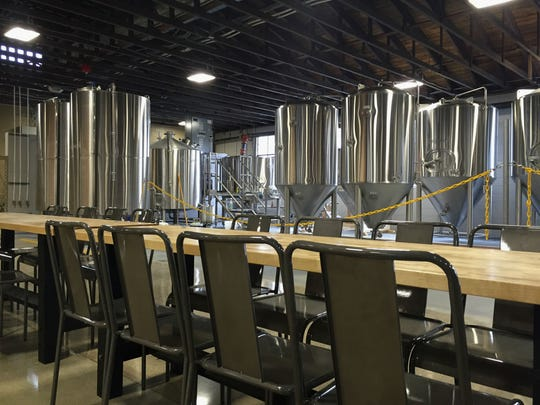 Here's what Bent Rail Brewery looked like before Liter House moved in on July 10, 2018. Liter House owners have completely transformed the once-cavernous space, dividing it into a stylish dining room and bar, banquet rooms and private dining areas.