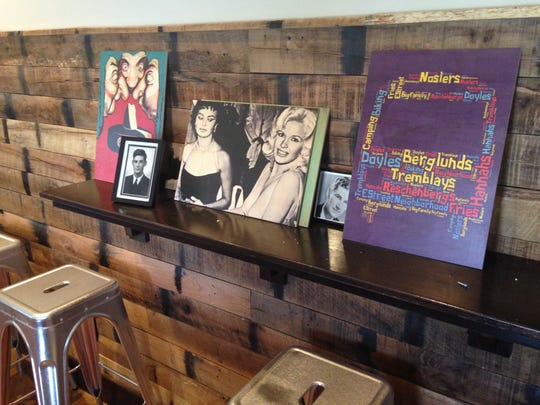 Pictures wait to be hung at the new Nick's Homestyle restaurant and bar, 1100 S. College Ave.