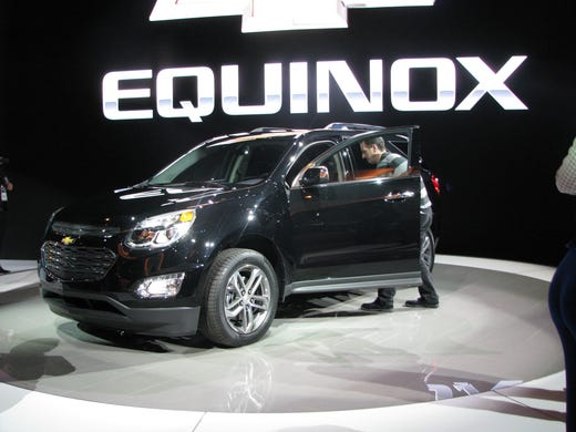 A Journalist Checks Out The 2016 Chevrolet Equinox