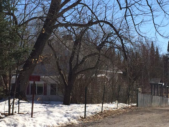 The home in which a 17-year-old Oneida County girl