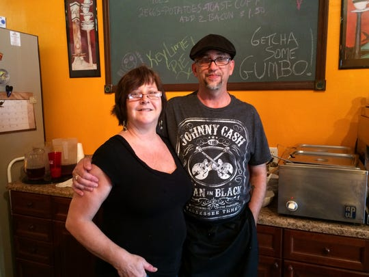 Theresa and Rob Hart opened Hart & Soul Cafe Nov. 25
