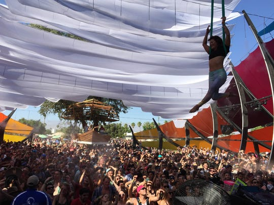 The Do Lab at the Coachella Music and Arts Festival on Sunday, April 12, 2015.