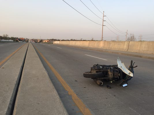 Shadeland moped crash