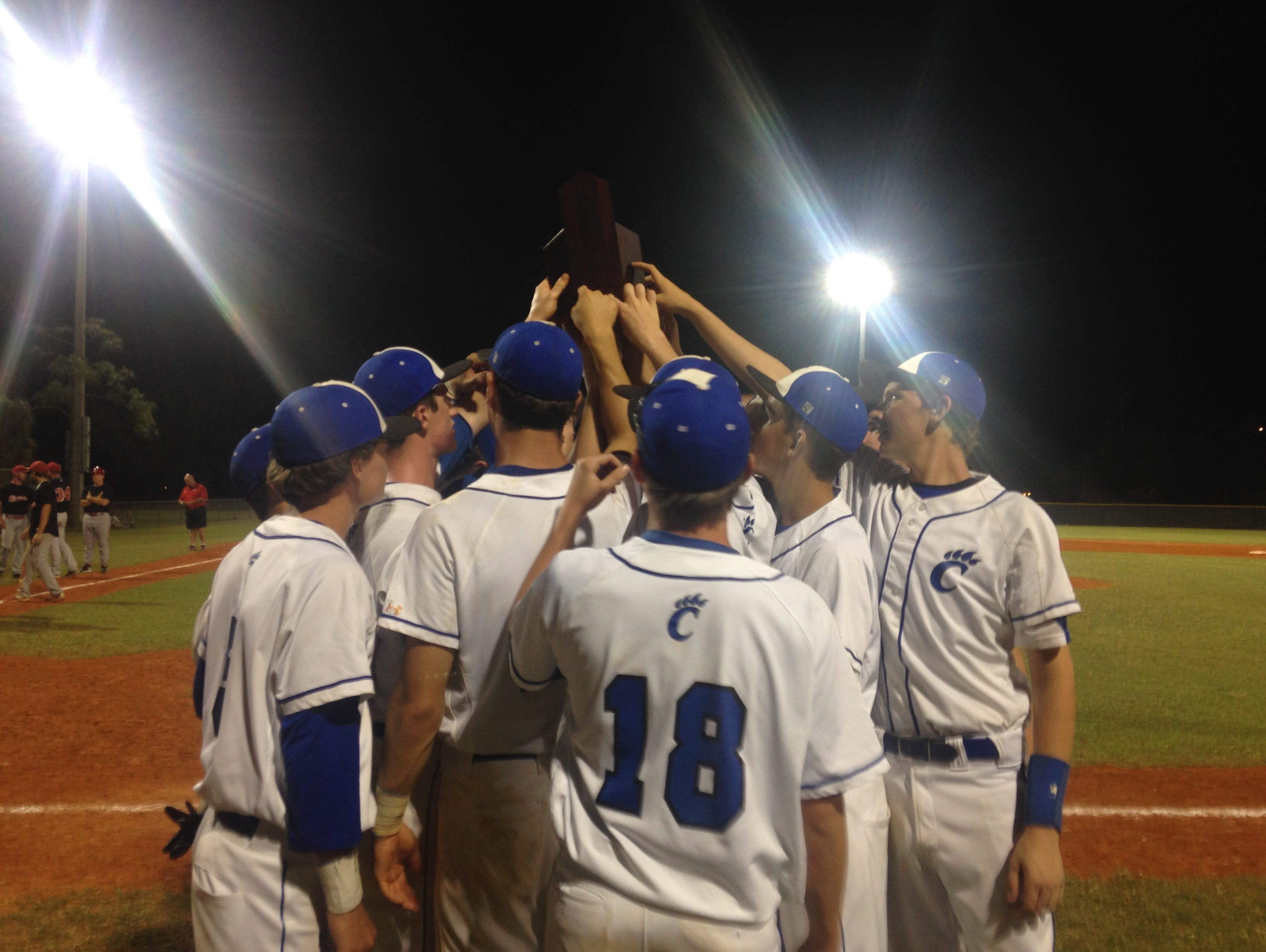 Canterbury clinches District 3A-11 baseball title on Thursday.