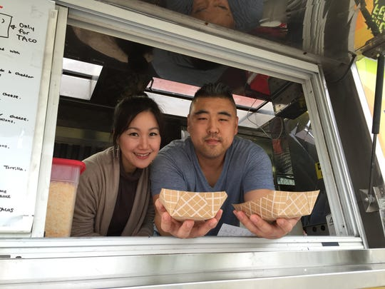 'We incorporate Korean barbecue into Mexican street food,' Seoulrito owner Paul Kim said. He and his wife, Jawon Kim, started the Korean-Mexican fusion food truck Seoulrito as a way to expose more people to Korean barbecue.