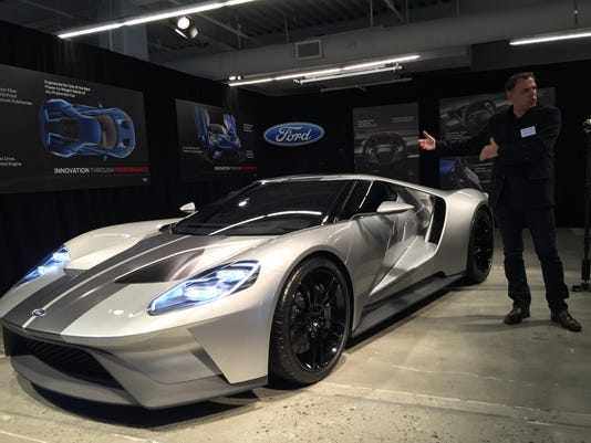 Ford The New Ford Gt