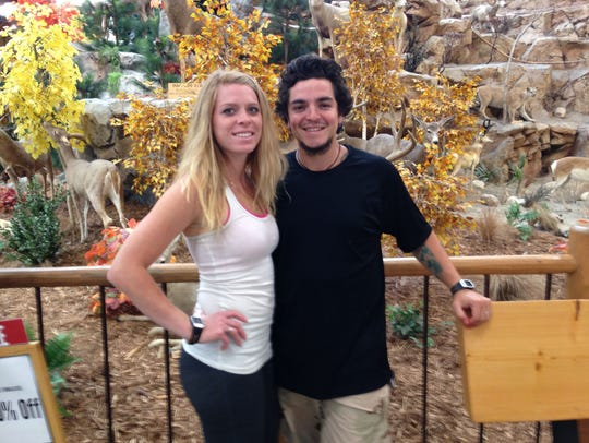 Sergio Valencia del Toro and his fiancee, Haylie Peterson.
