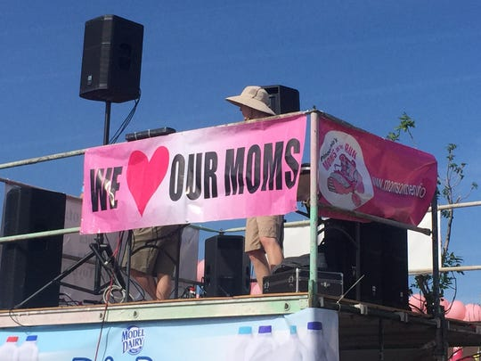 Images from the 15th annual Moms on the Run event, held Sunday, May 10, 2015, at Reno High School. About 4,000 people participated in the Mother's Day charity event to raise awareness about cancer.