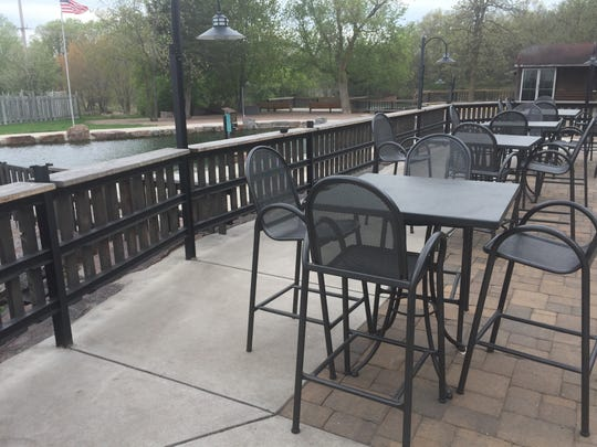 Molitor's Quarry Grill & Bar in Sauk Rapids offers a twist on traditional bar food and has a patio set up overlooking the fishery.