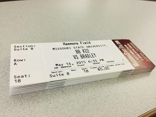 Here are the tickets. They could be yours.