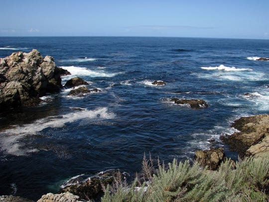 There are plenty of scenic views at Point Lobos south of Carmel.