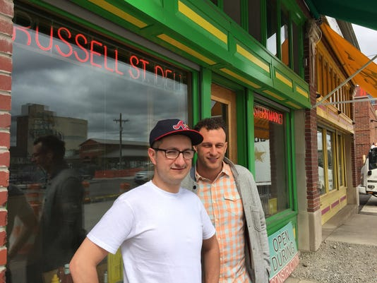 Russell Street Deli owners
