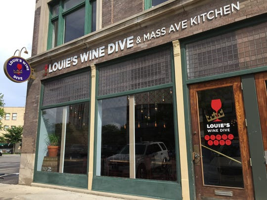 Louie's Wine Dive opened May 27, 2015, at 345 Mass Ave., across from Bakersfield. Location No. 2 opened in October 2016 at 701 Broad Ripple Ave.