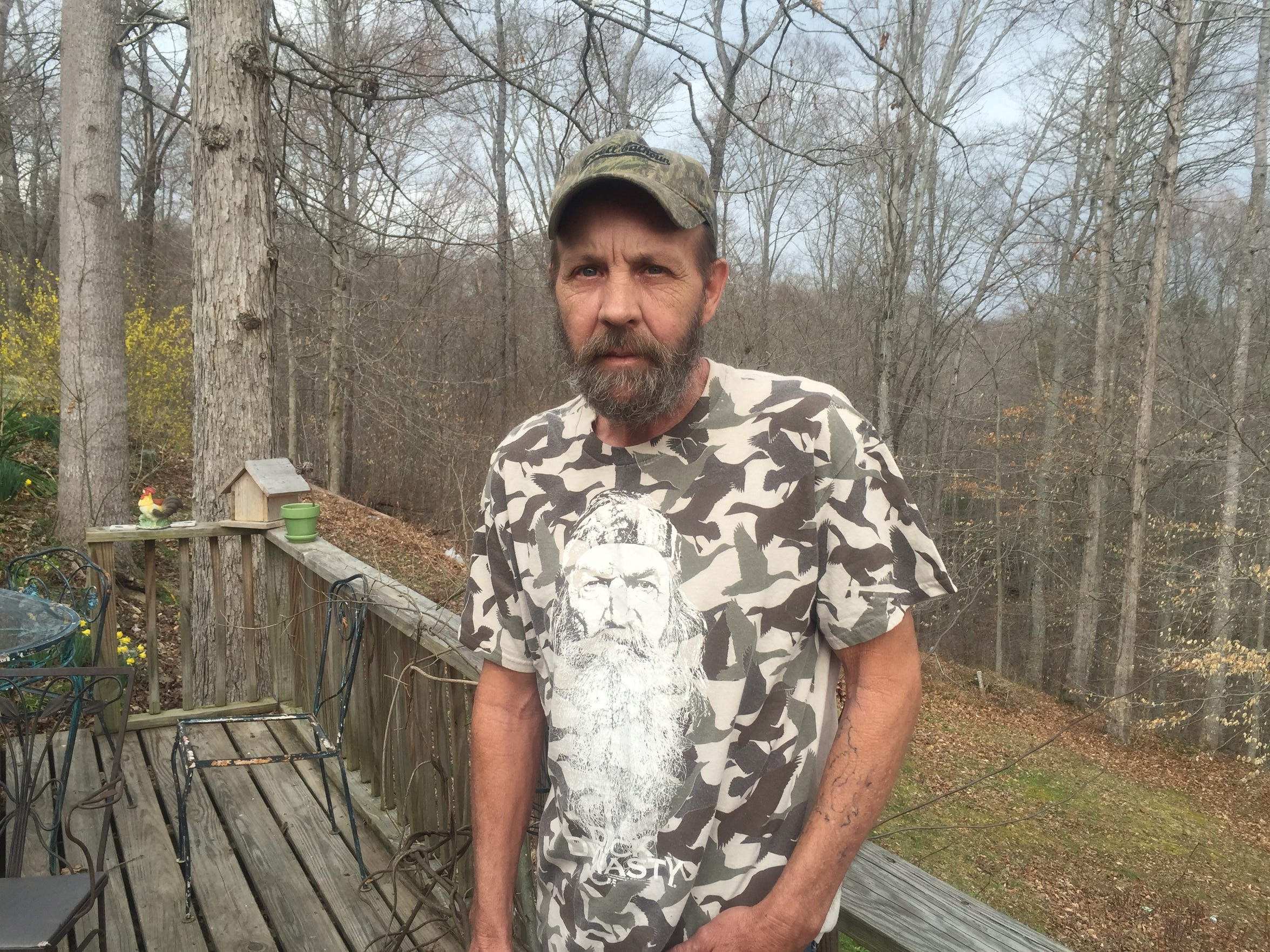Charlie Pittman, 50, of Clairfield, Tenn., has a bad back, had a heart attack four years ago and since then has had 10 strokes or mini-strokes. He's also had five surgeries on his leg. He was on Social Security disability for 22 months but has gone three years without insurance and can't afford the medications that he needs.