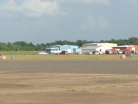 Officials say a small plane has crashed at Shreveport