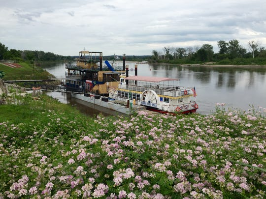 Riverboat at Missouri River