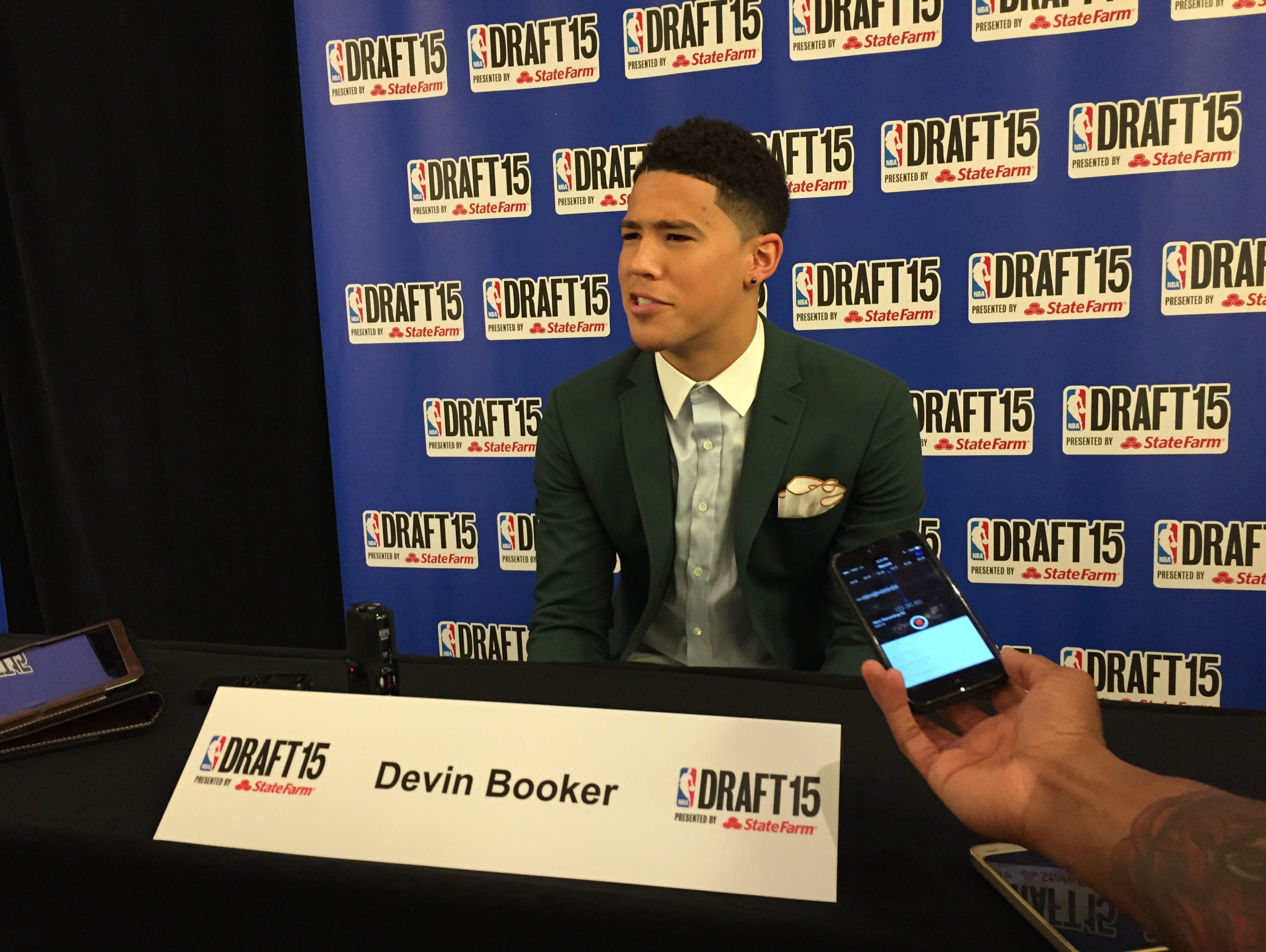 Kentucky's Devin Booker previews the NBA Draft, where he's expected to be a lottery pick.
