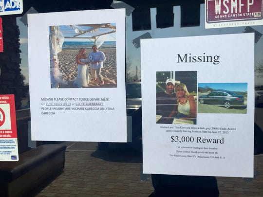 A local Maricopa restaurant has been the meeting spot for volunteer searchers who have put up missing flyers around the building.