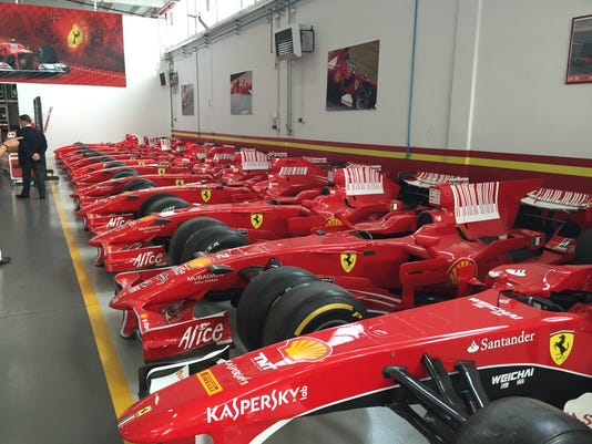 Ferrari Formula 1 race cars