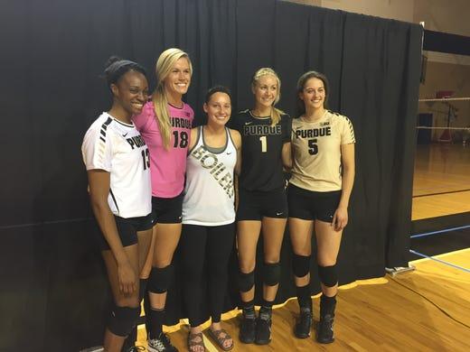 a23c604e09e4 Purdue debuts new Nike volleyball jerseys