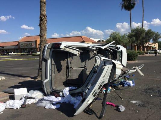 Phoenix rollover accident