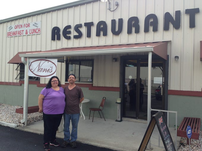 Owners Sherry and Peter Kline opened Nani's a few weeks