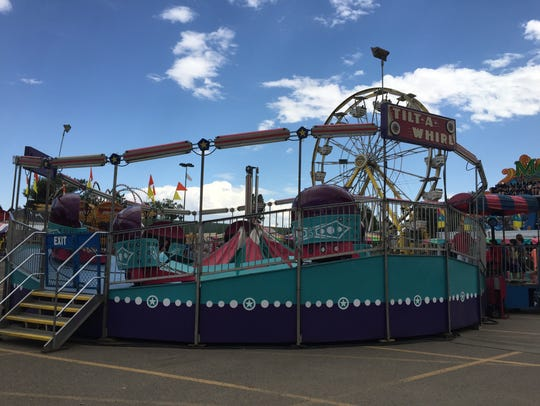 Tilt-A-Whirl at the Montana State Fair.