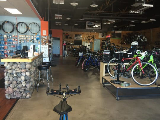 Two-wheel Jones Bicycles: A bike shop with nearly 500